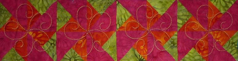 HST double pinwheel block