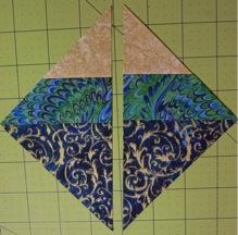 Cut in half square