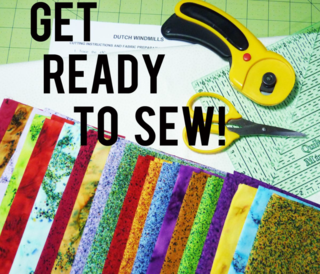 Get ready to sew