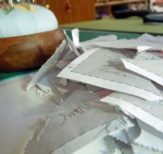 Little Gems Blog Hop pile of paper