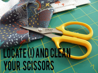 Locate your scissors