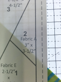 Cutterpillar fabric placement
