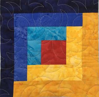 Adventure Quilt Block 1