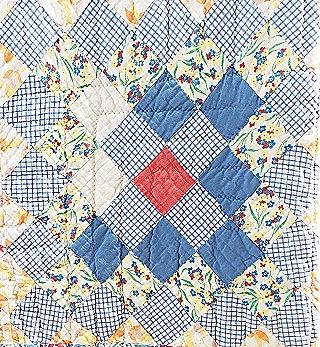 Vintage Scrap quilt block