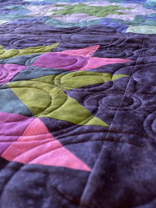 Adventure In Color Quilt Along Project featured by top US quilting blog and shop, Tamarinis