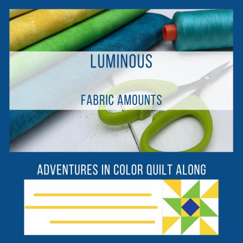 Luminous Quilt Fabric Amounts graphic-1