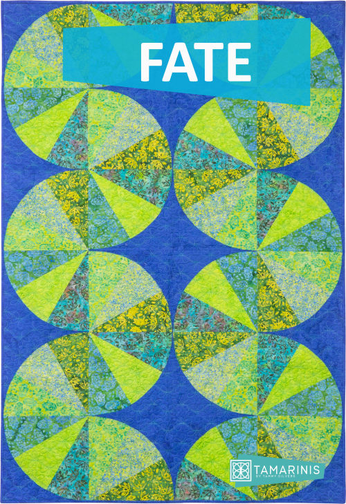 Kismet Blog Hop featured by top US quilting blog and shop, Tamarinis: image of Fate Blog Pic