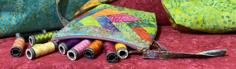 The Final Day of the Kismet Blog Hop featured by top US quilting shop and blog, Tamarinis: image of Packitup Kismet 6