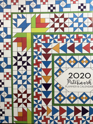 The Final Day of the Kismet Blog Hop featured by top US quilting shop and blog, Tamarinis: image of 2020 Patchwork Calender