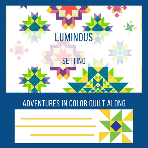 Luminous Quilt  setting graphic