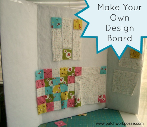 Patchwork Posse Design Wall