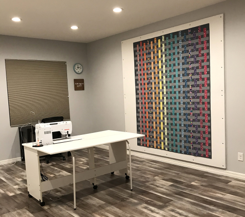 Christa Quilts Design Wall