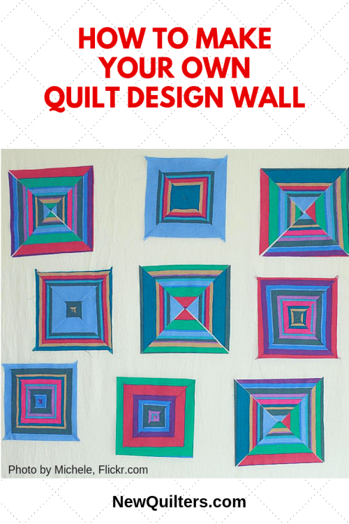 New Quilters Design Wall pic