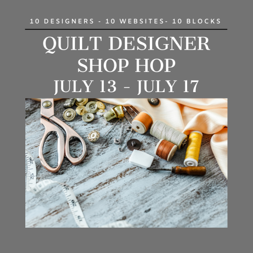 Designer Shop Hop Badge 1-3