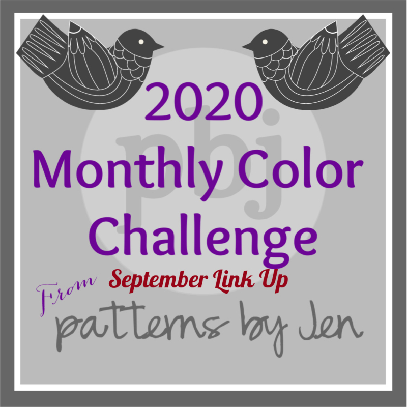 Color Challenge 2020 9 September Link Up
