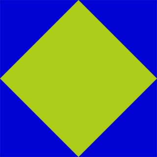 Square in a square block