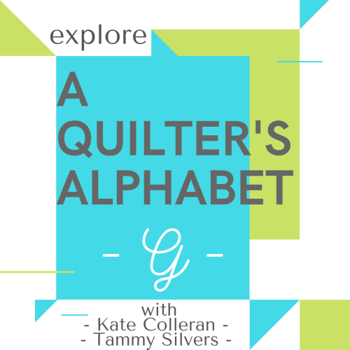 A QUILTERS ALPHABET G