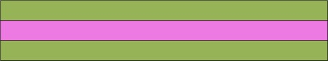 Rail Fence lime pink lime