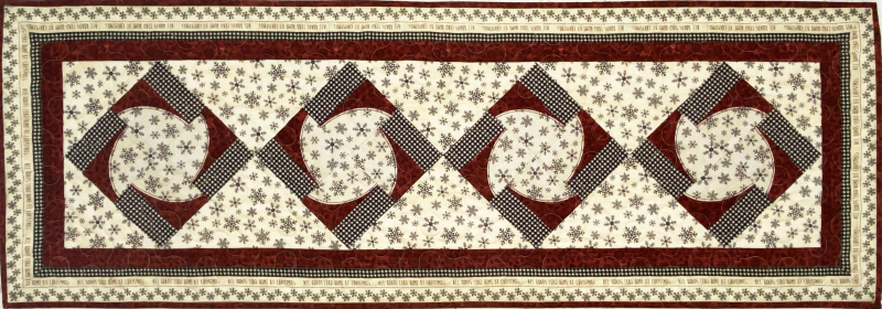 Double Dutch Table Runner