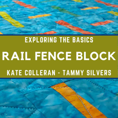 ETB Rail Fence Block Badge