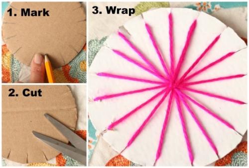 How-to-Make-a-Circular-Weaving-Loom-from-Cardboard