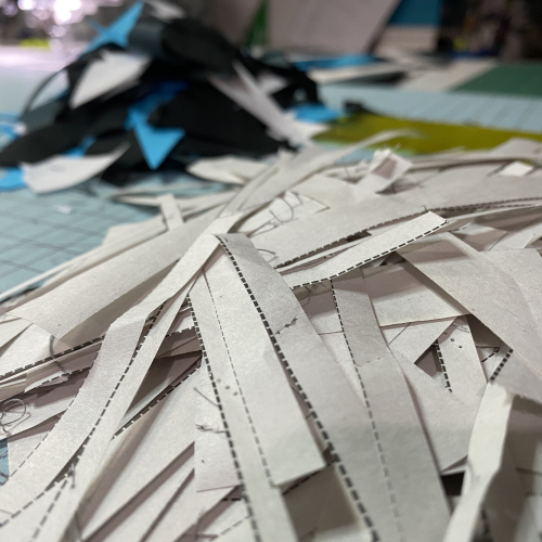 Strip Star removing paper