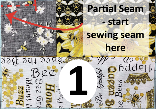 Buzzworthy Partial Seam Start Sewing