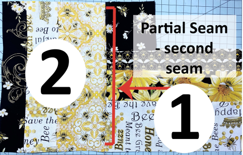Buzzworthy Partial Seam second seam