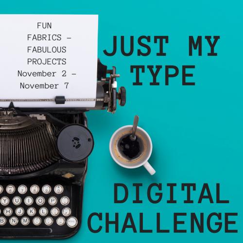 Just My Type Digital Challenge